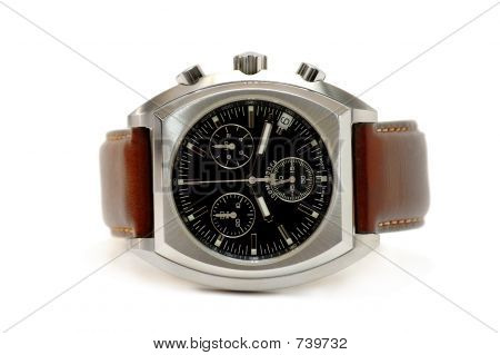Watch - brown leather