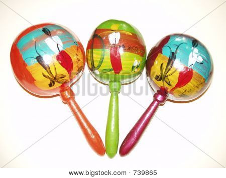 Maracas from Cancun