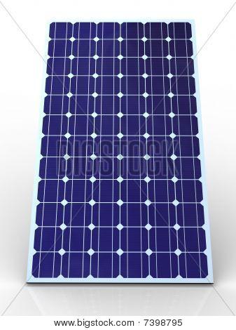 Panel Solar azul