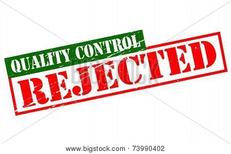 Quality Control Rejected