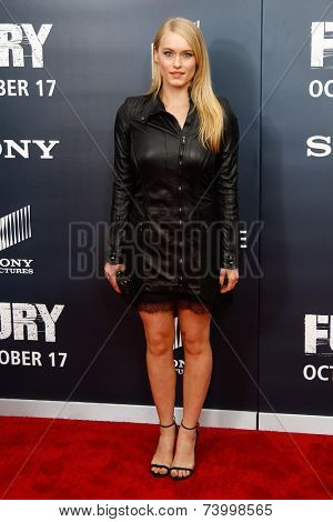 WASHINGTON, DC-OCT 15: Actress Leven Rambin attends the world premiere of
