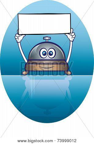 Service Bell Mascot