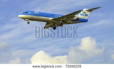 KLM Cityhopper Aircraft PH-KZK