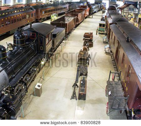 Antique Trains Of The Pennsylvania Railroad
