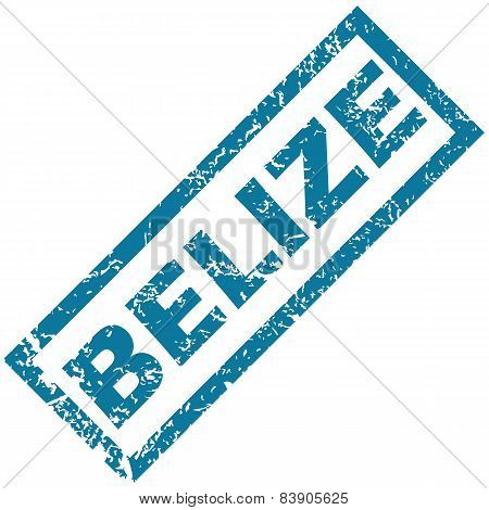 Belize rubber stamp