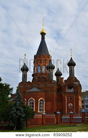 Church Transfiguration Of The Savior In Bryansk