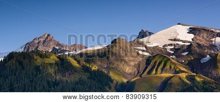 Cascade Range Pacific Crest Trail Heliotrope Ridge Mt. Baker