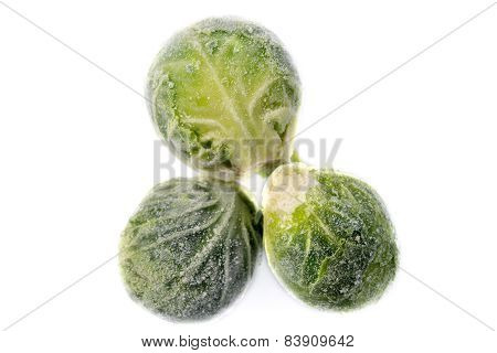 Three Frozen Sprouts