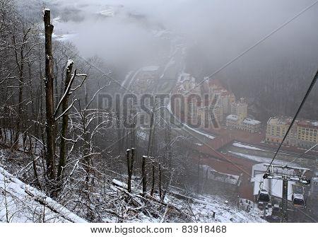 Winter Landscape Rose Valley.