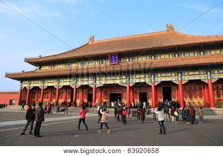 Beijing palace