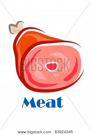 Pork or beef leg with bone