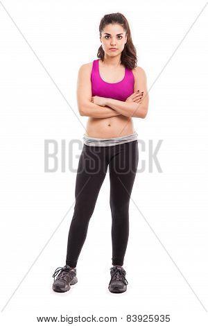 Attractive Female Athlete