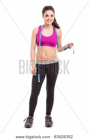 Cute Female Personal Trainer