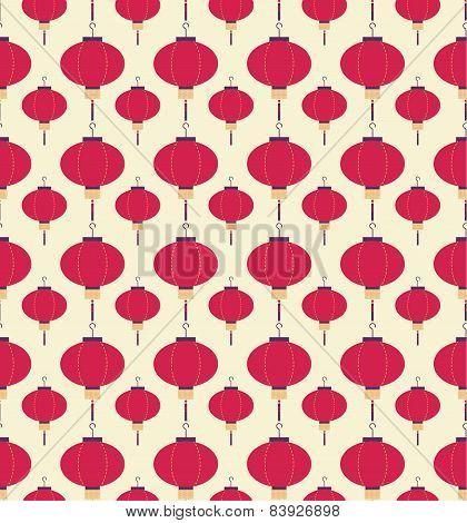 Japanese lanterns pattern