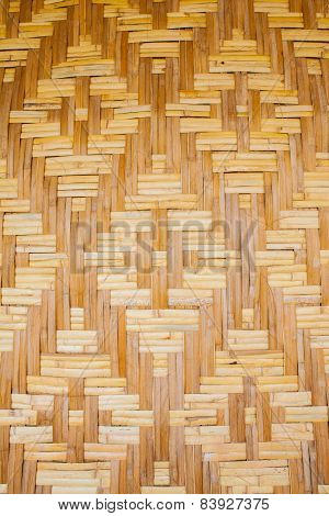 Woven Texture Bamboo Crafts