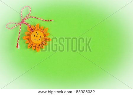 Bulgarian Martenitsa And A Sun