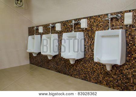 Public Men Toilet Room