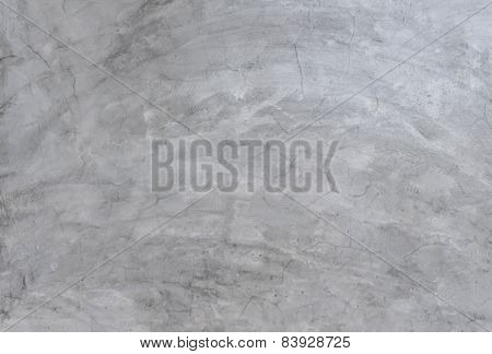 Gray Of Concrete Cement Wall For Background