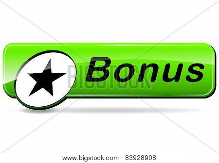 Bonus Green Web Design Button