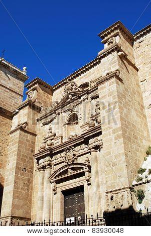 Almeria castle entrance.