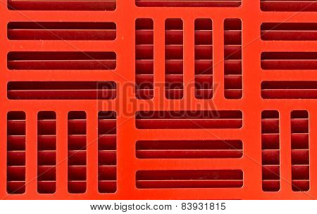 Red Vent Pattern