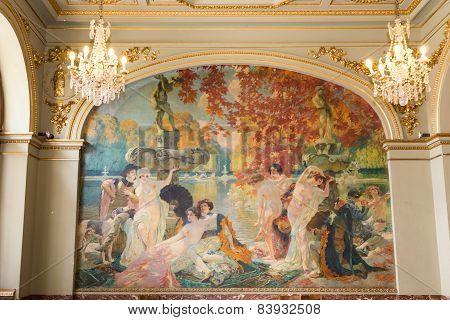 Mural L'ile Le De Cythere By Paul J. Gervais
