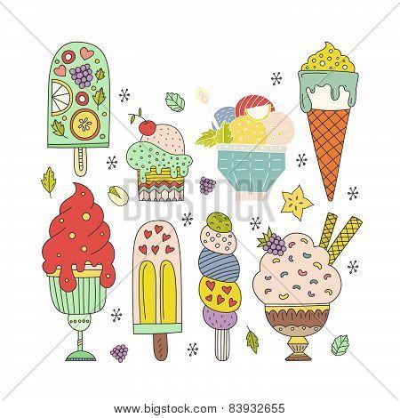 Ice Cream Pattern