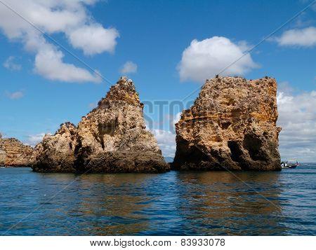 Landscape At Sea