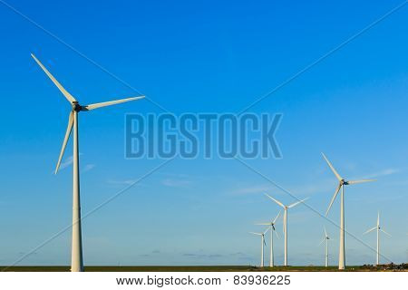 Windmills In A Group
