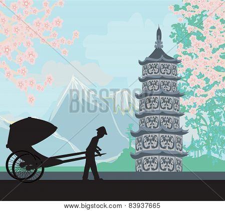 Chinese Rickshaw