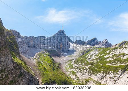 Santis And Alpstein Massif
