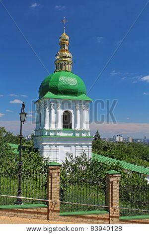 Church Of Famous Kyiv-pechersk Lavra Monastery In Kyiv, Ukraine