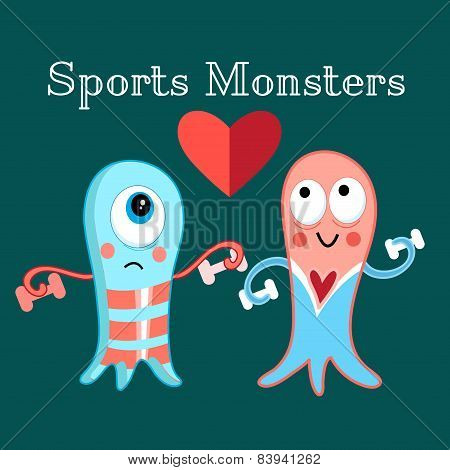 Sports Monsters