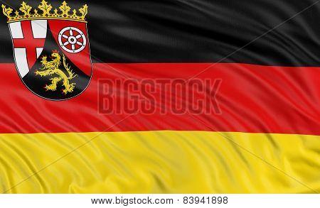 3D Rhineland-Palatinate Flag