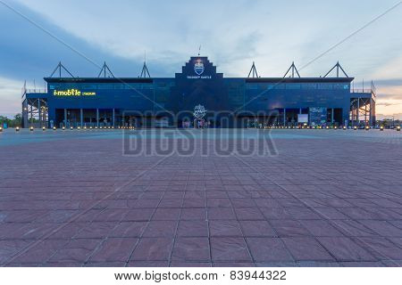 New I-mobile Stadium In Buriram, Thailand