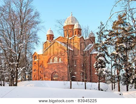 Finland. Lappeenranta parish church