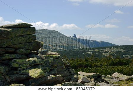 rocks in Karkonosze mountains