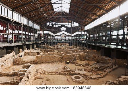 El Born market cultural centre, Barcelona,