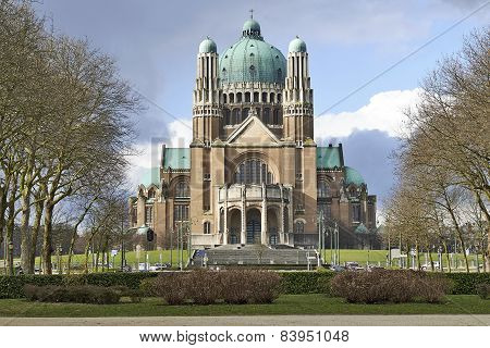 National Basilica Of Sacred Heart In Brussels