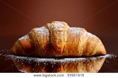 Fresh And Tasty Croissant