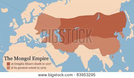 Mongol Empire Conquest Map