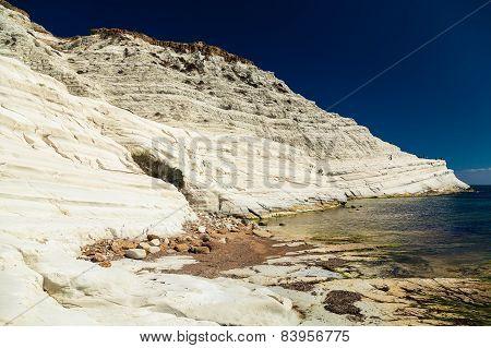 Bizarre White Cliff Scala Dei Turchi