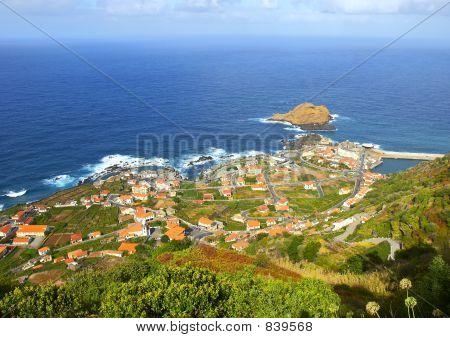 Small ocean town