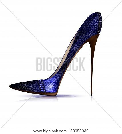 jeans shoe