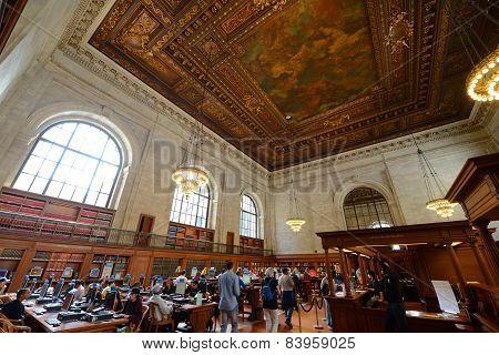 Rose Main Reading Room, New York Public Library