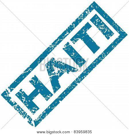 Haiti rubber stamp