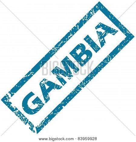 Gambia rubber stamp