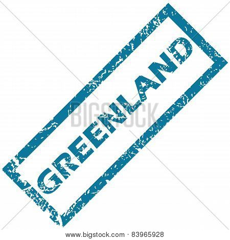 Greenland rubber stamp