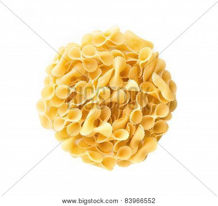 Bow Tie Pasta With Copy Space