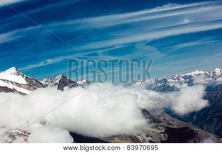 Snow Mountain Sky